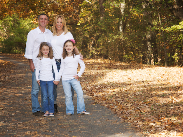 A Fall Family Photography in Little Rock in Hillcrest