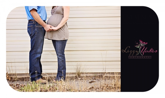 A urban maternity photography session in West Little Rock