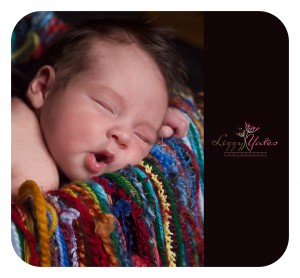 Little Rock Baby Girl Sleeps during her custom photography session