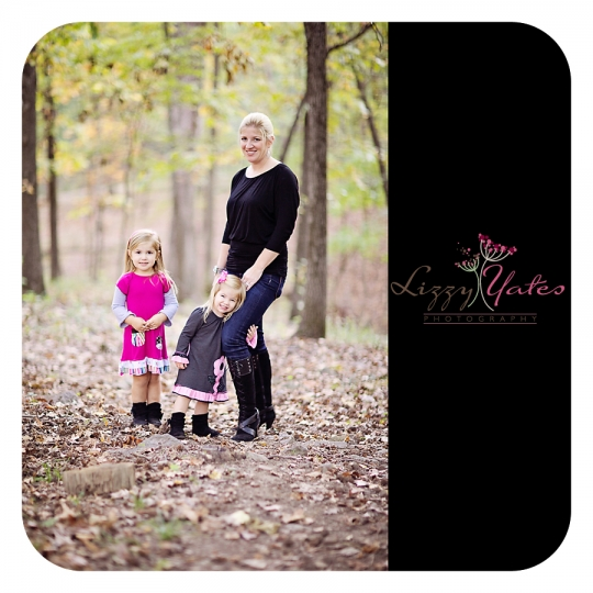 Family Photography in Little Rock Arkansas capturing the beautiful fall colors