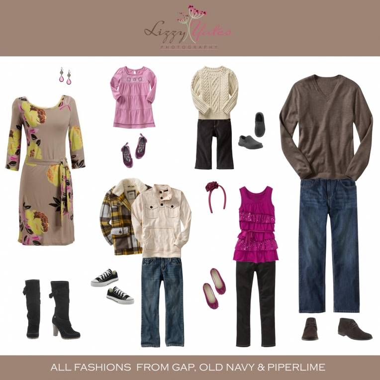 what to wear for late fall pictures in Little Rock Arkansas for family pictures