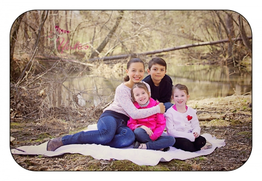 cousins in family pictures in arkansas
