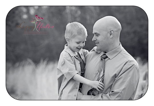 a dad and his son little rock family photographer