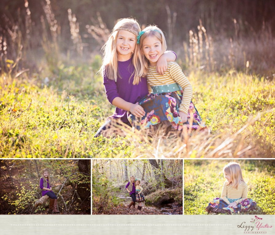 fall family pictures in little rock arkansas by lizzy yates
